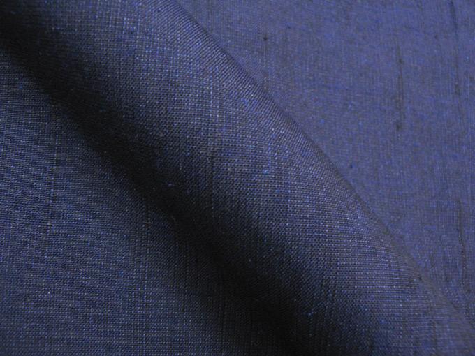 日本製 正絹羽織 1番色 紺(M,L)シルク