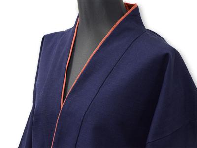 日本製女性用パンツルック作務衣濃紺