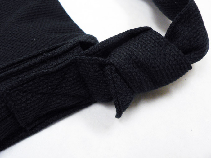 作務衣用 頭陀袋  金具なし 紐接合部分