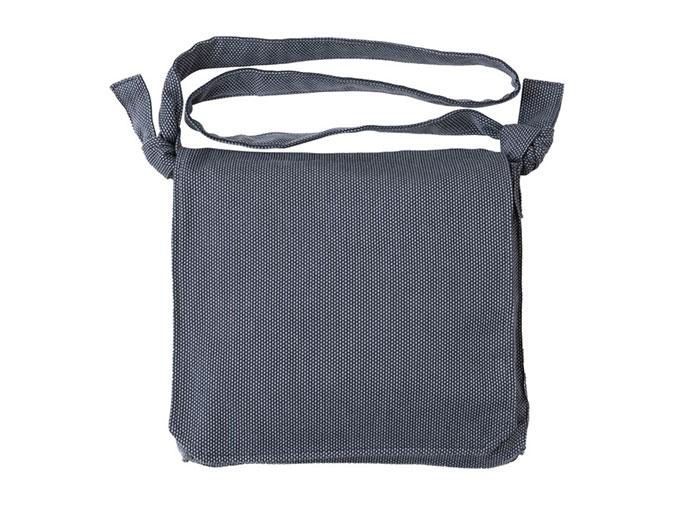 刺子織頭陀袋 グレー