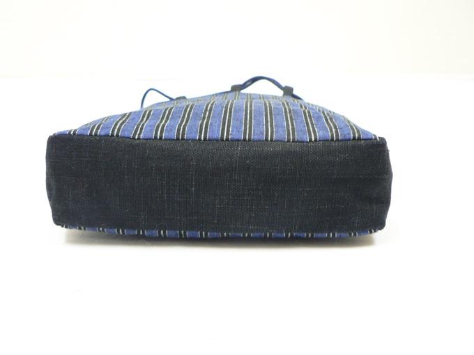 綿縞信玄袋