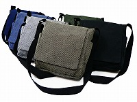作務衣向き刺子織ショルダーバッグ