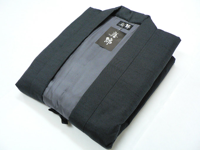 日本製 真綿はんてん No.3 グレー