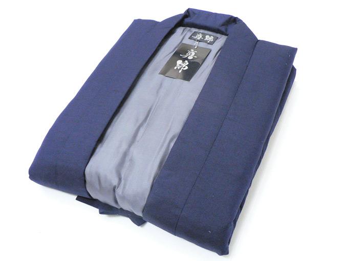 日本製 真綿はんてん No.1 紺