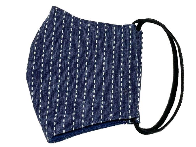抗ウイルス・刺子織マスク