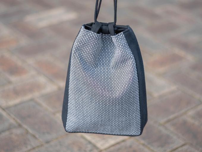 ドビー刺子織信玄袋