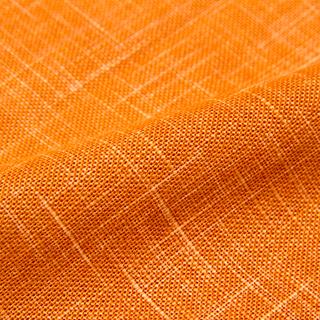 絣紬作務衣 16番色オレンジ