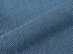 刺子織頭陀袋 ブルー 刺子生地