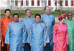 APEC 民族衣装 ベトナム