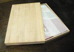 風呂敷(ふろしき)用桐箱