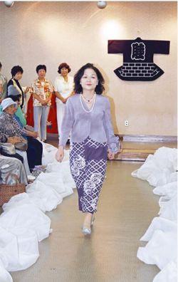 和服リフォームファッションショー