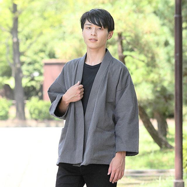 刺子織ジャケット No.3 グレー