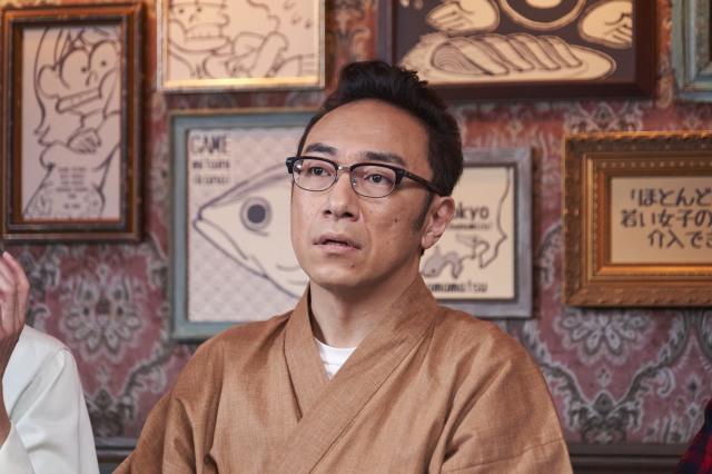 「遊戯みたいにいかない。」の東京03・角田晃広さんの作務衣