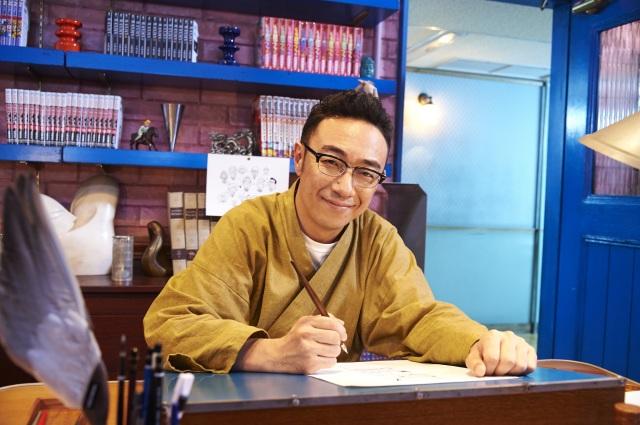 「漫画みたいにいかない。」の東京03・角田晃広さんの作務衣