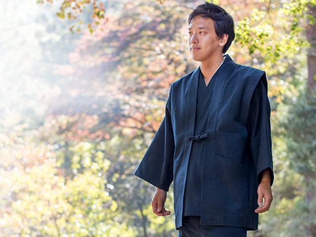 日本製の作務衣サイズ色々