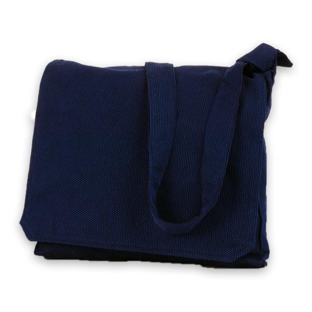 刺子織頭陀袋 No.1 濃紺