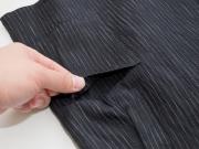 子供用近江ちぢみ絣織甚平 濃紺 上着ポケット
