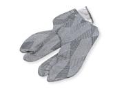 男漢 色木綿 柄足袋 グレー