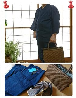 綿麻しじら作務衣 当方、山ぶどう蔓編み組みを業としておりますので仕事での作務衣着用が多く、 現在愛用のものが大分くたびれてきたために検索して和粋庵さんの製品に出会えました。 和粋庵さんの素早く丁寧な対応にとても感謝しています。