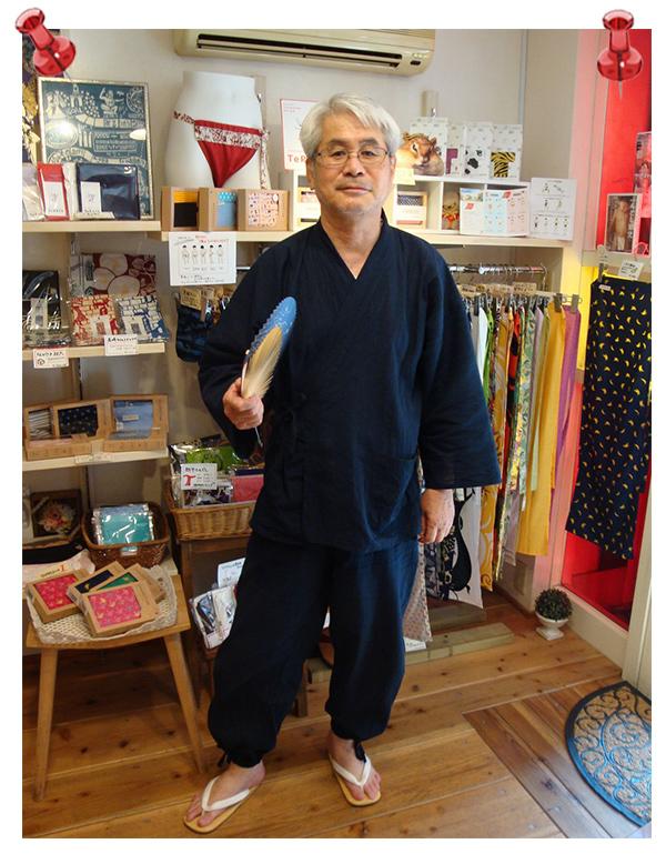 綿麻楊柳作務衣 濃紺 Mサイズ 夏になるとやはりその季節の作務衣が欲しくなり綿麻楊柳作務衣を購入しました。さらっとした感じの着こごちが最高ですね。夏にはおすすめです。