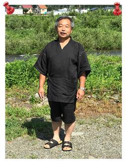 近江ちぢみ本麻楊柳甚平 黒 M 甚平は何着か持っていましたが、麻100%のを着てみたかったので、ネットで調べて購入させていただきました。やっぱり麻の甚平はいいです。でも、シワにはなりやすいみたいなので気をつけたいと思います。