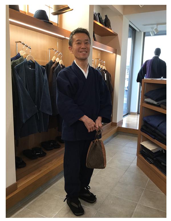 太刺子作務衣 濃紺 Sサイズ 着心地がとても良いです。