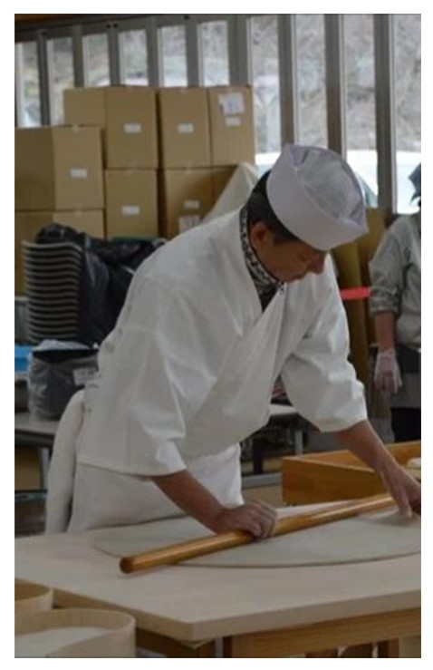 綾織作務衣 7番色 白/M 大事なイベントの時には着させていただいております。