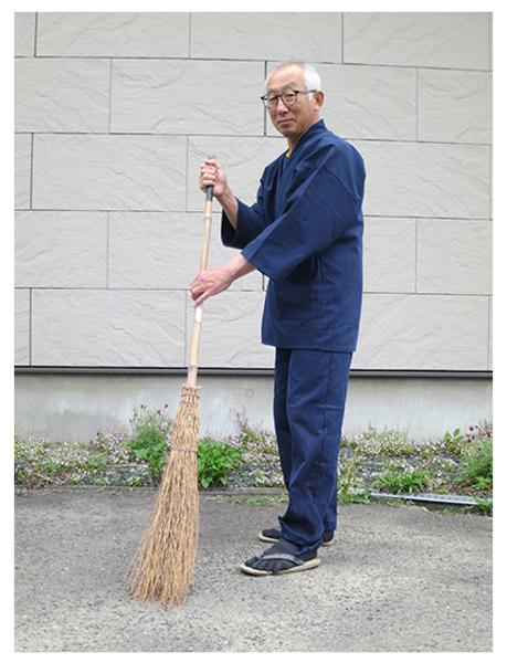 小柄ドビー作務衣  No.15 濃紺・L/身長:171cm・体重:69Kg/生地も柔らかく着心地がいいです。色合いもよく、普段着として長く着られると思います。