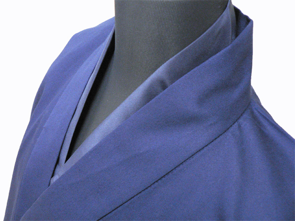 作務衣用Tシャツ半襦袢 NO.1 濃紺 紺作務衣×紺衿半襦袢
