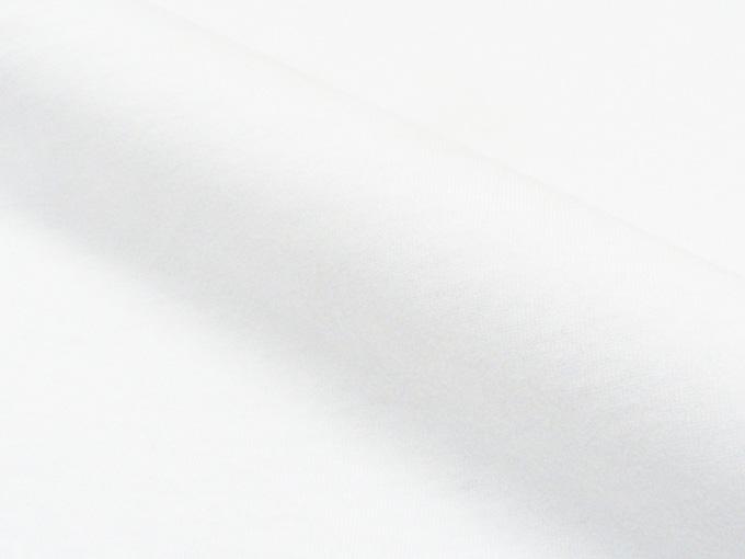 作務衣用Tシャツ半襦袢 NO.2 白 生地