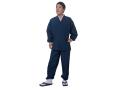 袖・裾ゴム式撥水高機能作務衣 日本製 着用写真