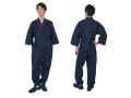 カイハラデニム・11オンス バイオウォッシュ作務衣 日本製  着用イメージ