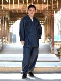 カイハラデニム・6オンス作務衣  日本製 イメージ