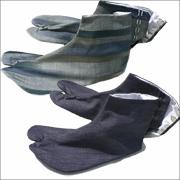 作務衣用柄足袋