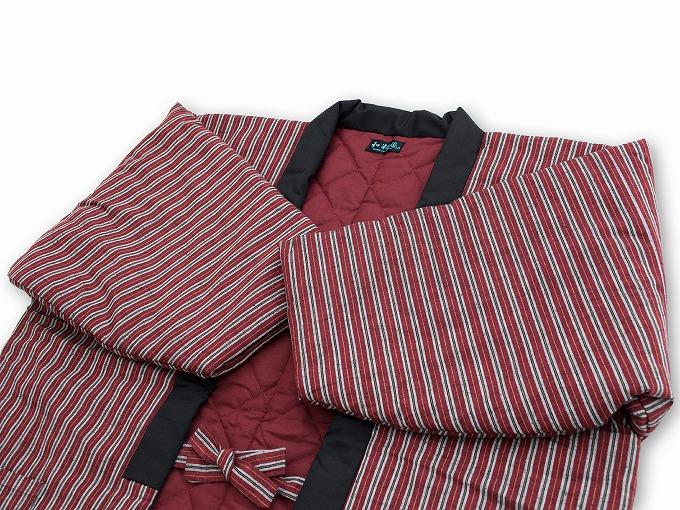 【綿入れはんてん】 木綿綿入れ袢纏 女性用 日本製 横