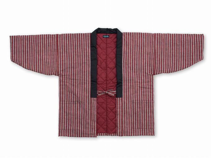 【綿入れはんてん】 木綿綿入れ袢纏 女性用 日本製